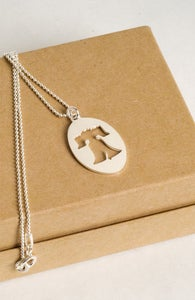 Image of Liberty Bell necklace