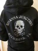 "Image of ""Rivanna Junction""  Pullover Hooded Sweatshirt - 2 SIDED."