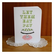 Image of LET THEM EAT PAV by Katydid