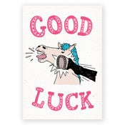 Image of GOOD LUCK - CARD