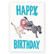 Image of HAPPY BIRTHDAY - CARD