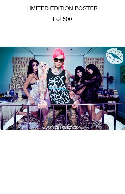 Image of LIMITED EDITION: Jeffree Star & Hanna Beth poster