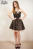 Image of Miss Patina 50's Glamour Parisian Style Lace Prom Dress