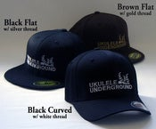Image of Ukulele Underground Flexfit Hats 