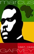 Image of Tribute to Marcus Garvey Poster
