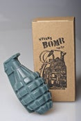 Image of Army Green Grenade Soap, Goats Milk
