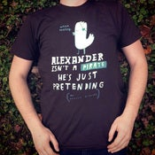 Image of ALEXANDER ISN'T A PIRATE HE'S JUST PRETENDING shirt {brown}