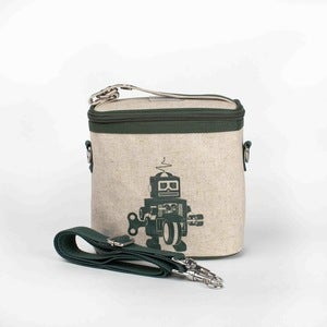 Image of So Young Mother Cooler Bag - Green Robot