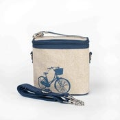 Image of So Young Mother Cooler Bag - Blue Bicycle