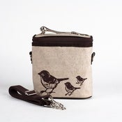 Image of So Young Mother Cooler Bag - Brown Birds
