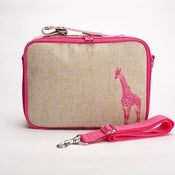 Image of So Young Mother Lunch Box - Pink Giraffe