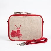 Image of So Young Mother Lunch Box - Red Scooter
