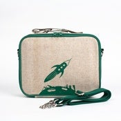 Image of So Young Mother Lunch Box - Green Rocket