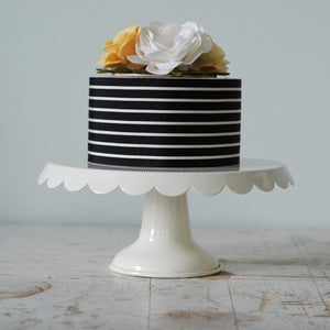 Image of Cake Topper (7 inch floral cluster)