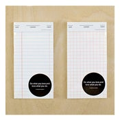 Image of Standard Number Mini Memo Pad