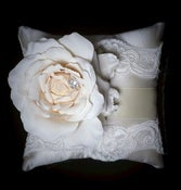 Image of FRENCH BOUQUET Ring Bearer Pillow