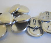 Image of Additional  {looped} metal button shells