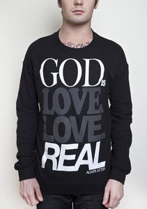 "Image of ""God Is Love"" Sweater"