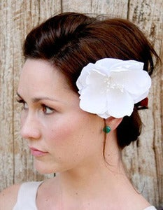 Image of Lida - Natural handmade bridal flower hair adornment