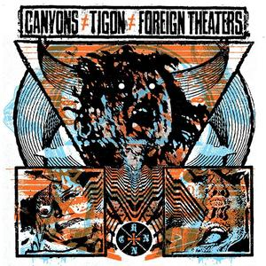 "Image of MLTVR009 - CANYONS/TIGON/FOREIGN THEATERS 3-way split LP ""Can't Have Nothin' Nice"""