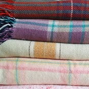 Image of Vintage Check Welsh Blanket