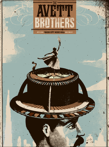 Image of The Avett Brothers Radio City