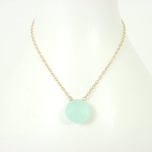 Wabi Sabi Jewelry — Ichi Necklace, 12mm, round-Limited edition