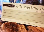 Image of $150 Open House Gift Certificate