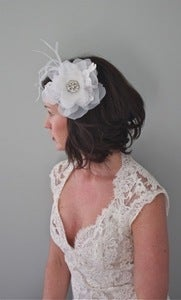 Image of Hedy - Vintage Bridal Headpiece