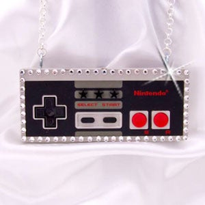 Image of Nintendo Controller Necklace