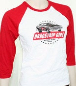 Image of Women's Dragstrip Girl Raglan Shirt