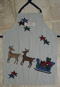 Image of Christmas Apron Download Pattern