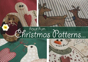 Image of Four Fun Christmas Download Patterns
