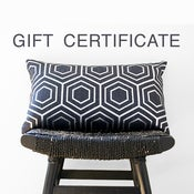 Image of GIFT CERTIFICATE for be still homewares valued at $50.00 AUD