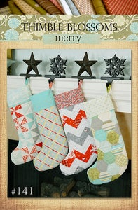 Image of Merry- pattern 141 PAPER Pattern