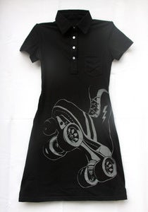 Image of FTR Leisure Dress, Black