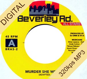 Image of Beverley Road Allstars - &quot;Murder She Wrote / Don Dada&quot; DIGI