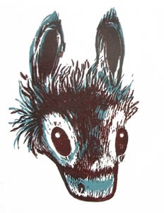 Image of Donkey O'tay   Limited Edition print of 15