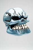 Image of Punchy Skull - Electric Blue