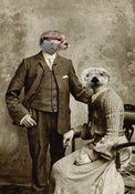 Image of OTTER COUPLE PRINT