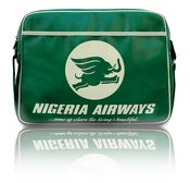 Image of NIGERIA AIRWAYS RETRO AIRLINE BAG
