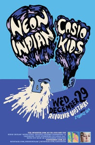 Image of Neon Indian/ Casiokids - 2011 Tour Poster
