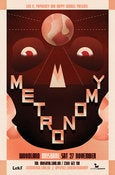Image of Metronomy - 2010 Tour Poster