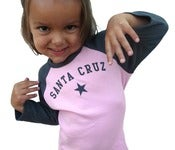 Image of santa cruz toddler tee-pink