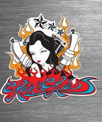 Image of Spark Plug Girl Sticker