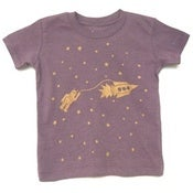 Image of astrobots infant t-shirt - sunset