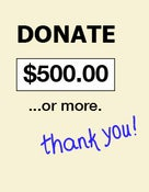 Image of Donate Now - 500.00