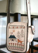 Image of Daisy Cottage Bag pattern