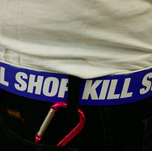 Image of KILL SHOP KILL - BELT - BLUE