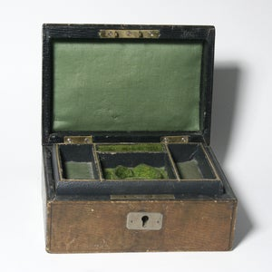 Image of Vintage Antique Jewellery box - SOLD